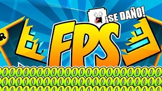 IMPOSIBLE JUGAR GEOMETRY DASH A 0 FPS | VRO