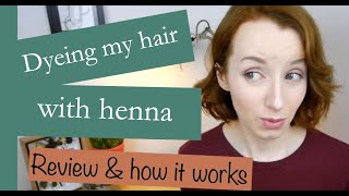 Colouring Your Hair Henna Review How It Works