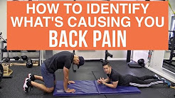 How to identify what's causing your back pain