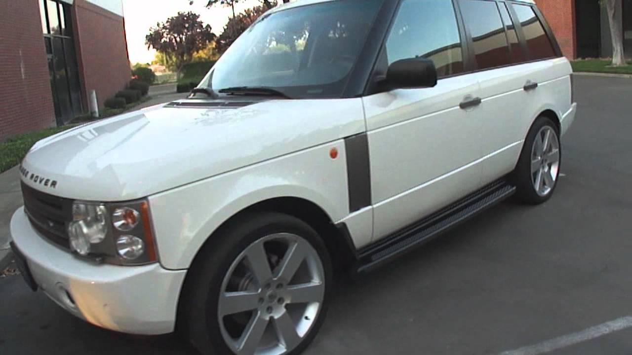 2004 range rover hse youtube. Black Bedroom Furniture Sets. Home Design Ideas