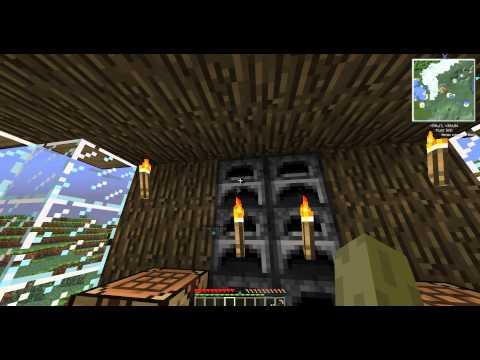 Minecraft - 2 - Неон - мой дом моё дерево