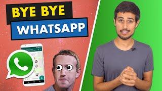 WhatsApp Privacy Policy Update Explained! | Dhruv Rathee | WhatsApp vs Telegram vs Signal