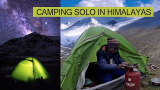 Solo Camping In Himalayas
