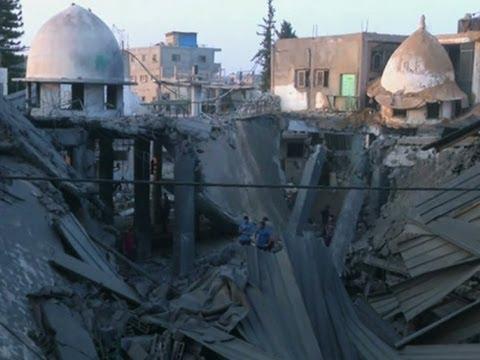 Israeli Aircraft Hits Dozens of Gaza Targets