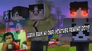 Download MALAYSIA REACTION TO Youtube Rewind Minecraft Animation Indonesia 2019 || WE ARE ONE ||