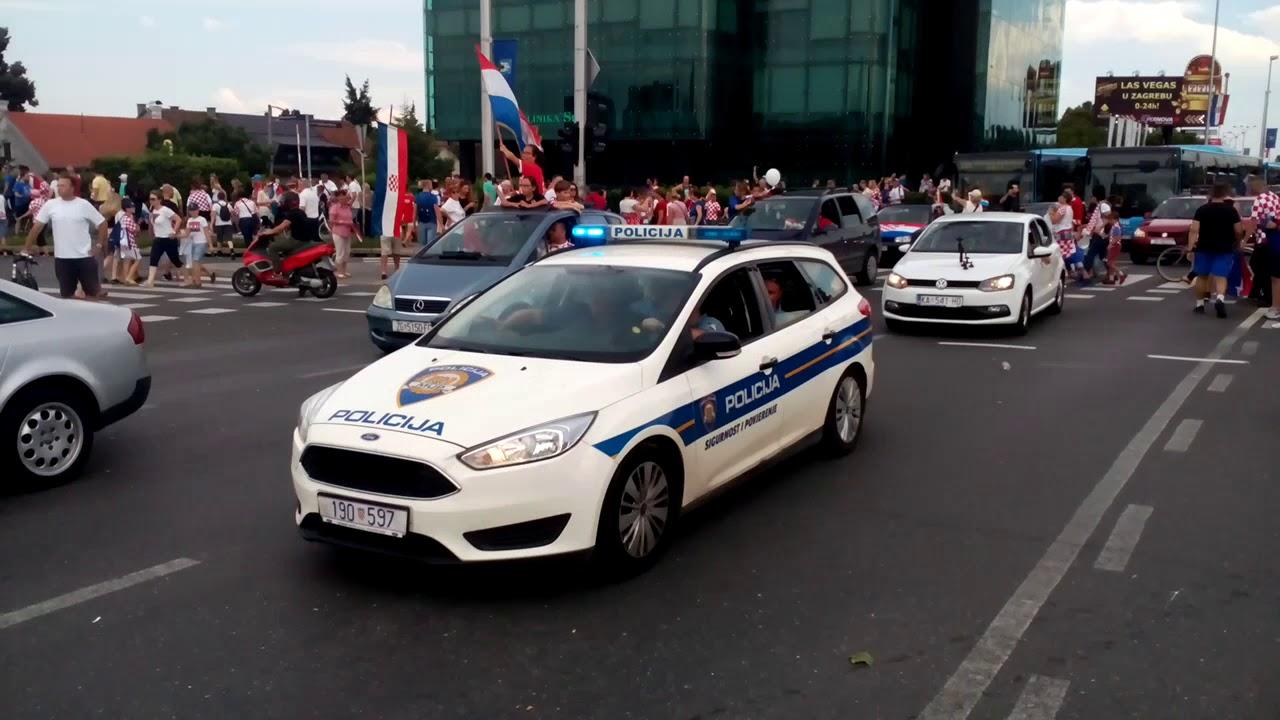 Дорожная полиция Хорватии хорошо технически оснащена
