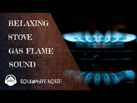 Gas Stove Flame Sound Effect For Deep Relaxation