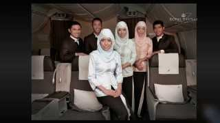 Royal Brunei Airlines Unveils New Heritage Inspired Uniforms