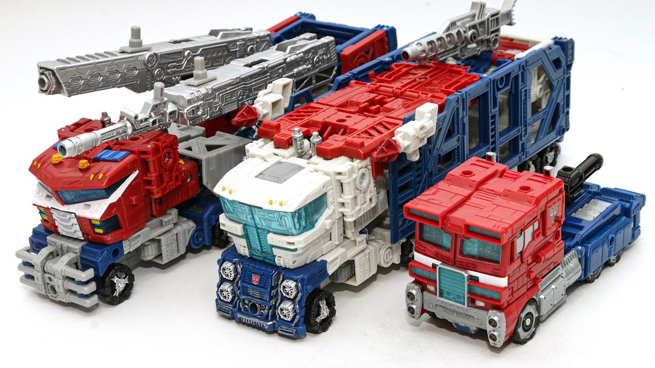 Download Transformers WFC Siege Optimus Prime Galaxy Optimus Prime Ultra magnus Truck Vehicles Car Robot Toys