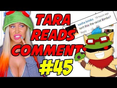 TEEMO THE RACIST BIMBO! - TARA READS COMMENTS! #45