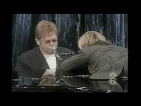 Elton John & Ellen - Can You Feel The Love Tonight