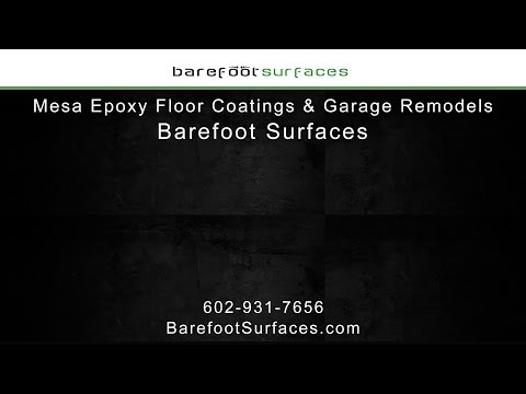 Mesa Epoxy Floor Coatings & Garage Remodels | Barefoot Surfaces
