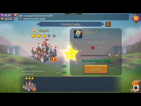 The Significance Of Castle Skins And Star Scrolls! Lords Mobile