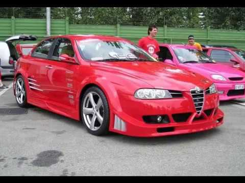 alfa romeo 156 tuning style youtube. Black Bedroom Furniture Sets. Home Design Ideas