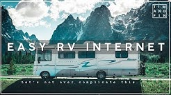 Easy RV Internet Set Up - and yes IT'S UNLIMITED!