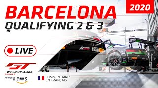 QUALIFYING 2&3 - BARCELONA GTWC EUROPE 2020 - FRENCH