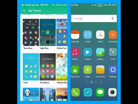 [HINDI] How To Install Best Themes For Meizu M2 Flyme 4 Ma