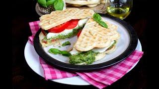 Лучшее Начало Дня! Закуска «Вафельные сендвичи». #Сендвич#Завтрак Домашний ресторан®