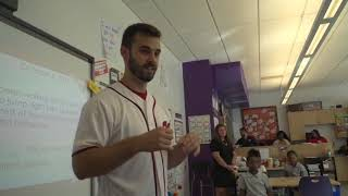 Nationals surprise local elementary students with postseason tickets