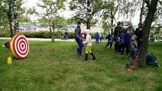 Как происходит обучение детей игре SNAGgolf СНАГ гольф на мероприятии | 2025golf