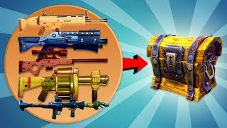LUCKIEST LOOT EVER (All-In-One Chest) // Fortnite: Battle Royale Solo Victory
