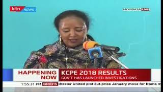 Full speech of CS Amina Mohamed releasing the #KCPE2018 results