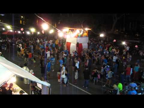 Pearl City Hongwanji Mission Bon Dance 2015 Pearl City Oahu Hawaii