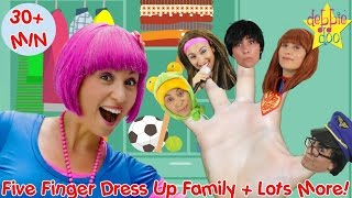 Dress Up Finger Family + Lots More Kids Songs and Nursery Rhymes | Wheels On The Bus || Compliation