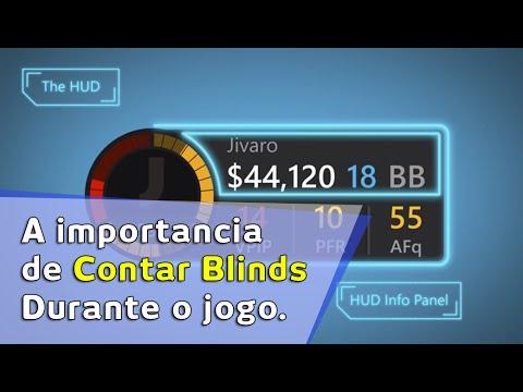 A importancia de contar blinds durante o jogo