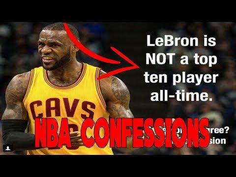 CRAZY NBA CONFESSIONS!
