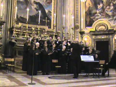 As the Deer - St. Stephen's Choir in Rome 11.29.2011