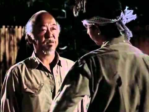 Karate Kid Wax On Wax Off Youtube