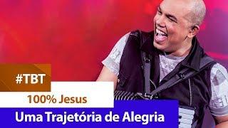 Sandro Nazireu - 100% Jesus [ DVD UMA TRAJETÓRIA DE ALEGRIA ]