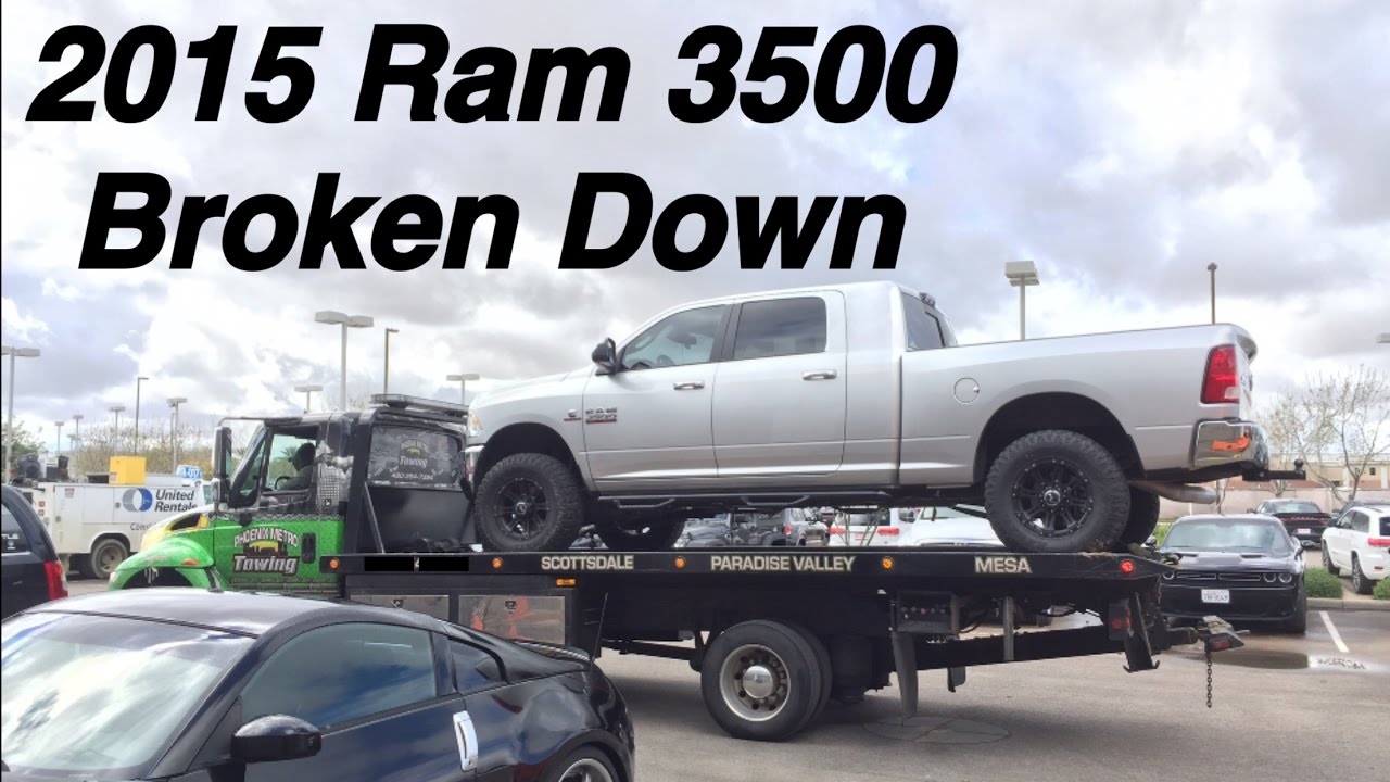 Cummins Broken Down Chrysler Roadside Assistance SUCKS - Chrysler roadside assistance
