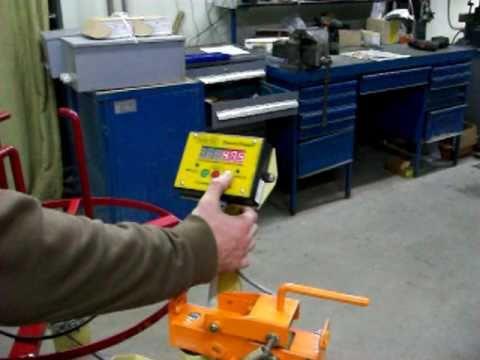 видео: Станок для перемотки кабеля Оптима-М (rewinder for cables optima-m)
