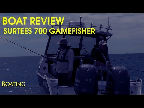Boat review: 2017 Surtees 700 Game Fisher twin Yamaha F115