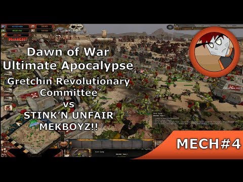 DoW: Ultimate Apocalypse - Gretchin Revolutionary Committee Vs Orks