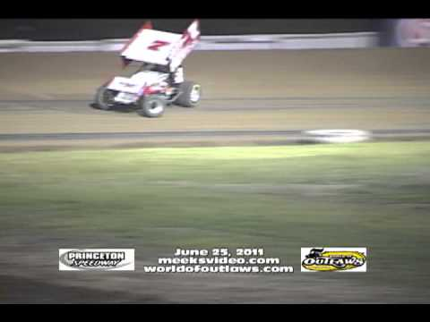 6-25-2011 WOO Princeton Speedway Video highlights