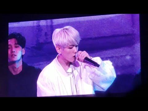 191111 Baekhyun Betcha, UN Village @ SuperM 슈퍼엠 We Are The Future Fort Worth Concert Live Fancam