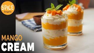 পাকা আমের তৈরি মজাদার ডেজার্ট | Mango Cream Recipe | Desserts Recipe Bangla | Mango Mastani