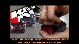 HPI Customs - K&N Dual Filter Breather Kit