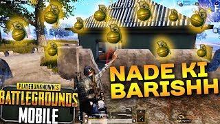 NADE KI BARISH 😜 - PUBG Mobile Win Gameplay (Hindi/India) - FUNNY MOVEMENTS