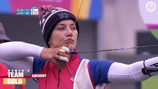USA Women's Archery Team Gold | Pan American Games Lima 2019