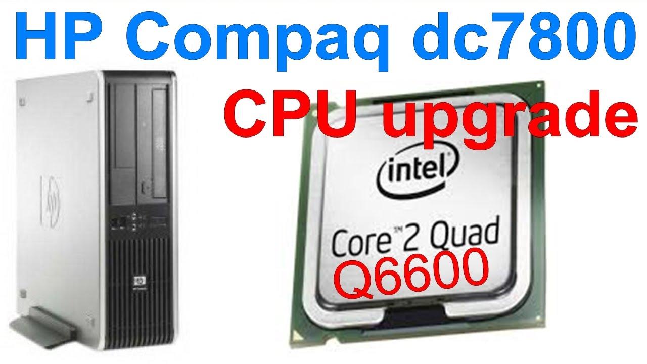 redigitt #080 HP Compaq dc7800 CPU upgrade to Core2Quad Q6600