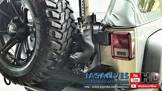 How-to:  Rugged Ridge Hi Lift Jack Mount Base - Step By Step Installation On Jeep Jk
