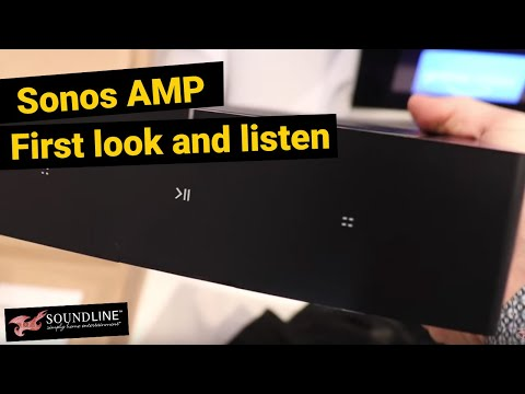 Sonos Amp First Unboxing, Look & Listen