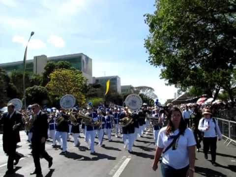 Bandas Marciais do Colégio Marista de Ponta Grossa/PR e Brasília/DF