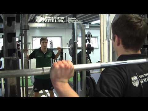University of Stirling Tennis Scholarships Video