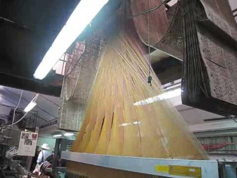 Jaquard Loom at Busatti Mill