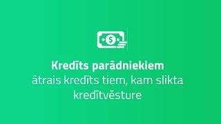 Ātrais kredīts ar sliktu kredītvēsturi